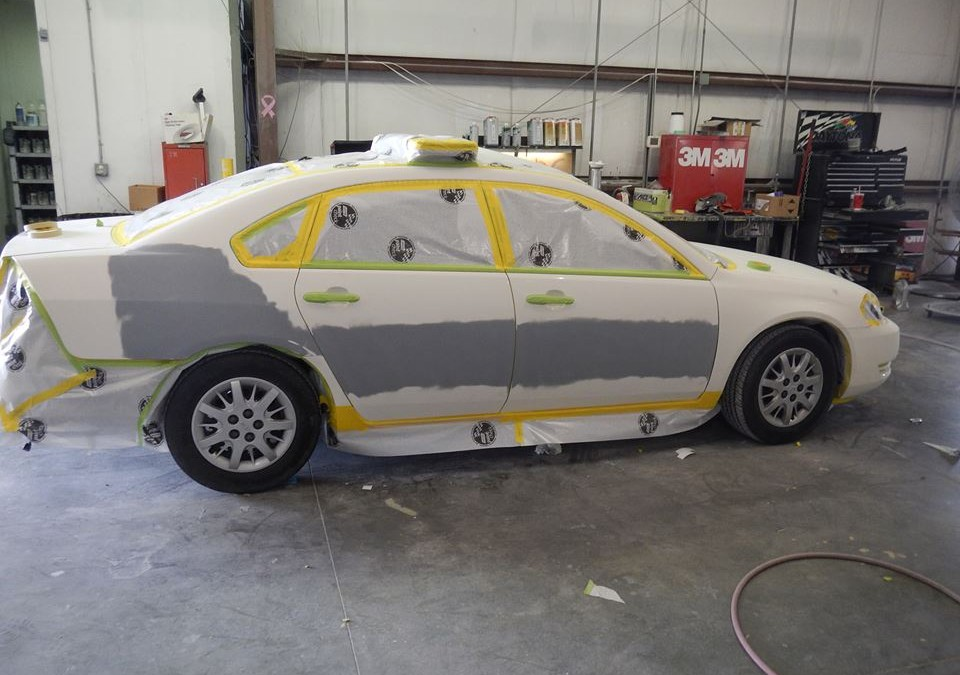Sheriff's Car Before & After
